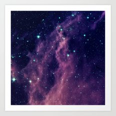 SPACE #FRDM Art Print