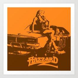 Hazzard & Girls Art Print