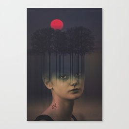 Subsurface Canvas Print