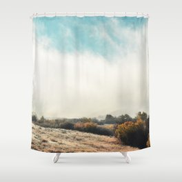Fog in the Willows Shower Curtain