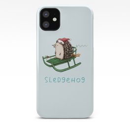 Sledgehog iPhone Case
