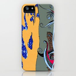 Whale Naked iPhone Case