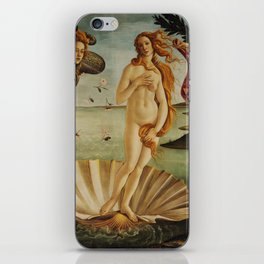 The Birth of Venus by Sandro Botticelli iPhone Skin