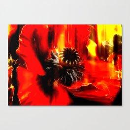 Mohnblüte Canvas Print