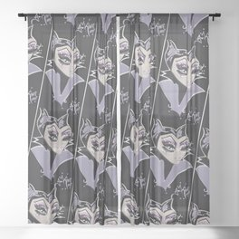 Mistress Evil Sheer Curtain