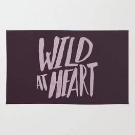 Wild at Heart x Typography Rug
