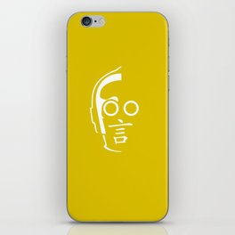 C3PO - Japanese kanji for 'Talk' iPhone Skin
