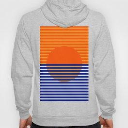 Orange Split Sun Hoody