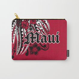 Maui Poly Tribal Distressed Carry-All Pouch