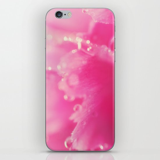 Kissed by the Rain iPhone Skin