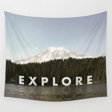 Go Explore Wall Tapestry