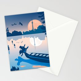 Dragon Boat Toronto Canada by Cindy Rose Studio Stationery Cards