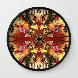 Fox Light Wall Clock
