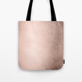 Moon Dust Rose Gold Tote Bag