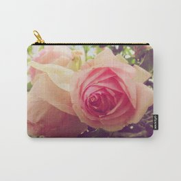 soft vintage roses Carry-All Pouch