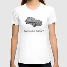 Sunbeam Talbot 90 saloon T-shirt