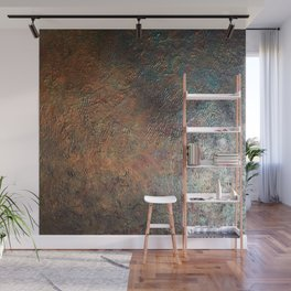 Elements of Copper Wall Mural