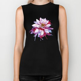 Bleeding Lotus Biker Tank