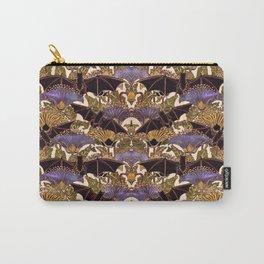 Art Nouveau Bats Medium Size Pattern Carry-All Pouch