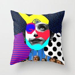 Julis Launch Throw Pillow