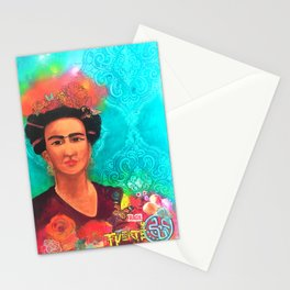 Frida Fragil y fuerte Stationery Cards