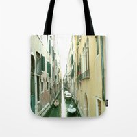 italy Tote Bags featuring italy by Harriet Hendricks