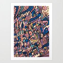 Jammin' Good (Tropical Breeze) Art Print