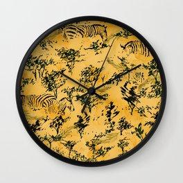 Hot Safari Wall Clock