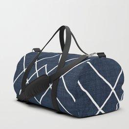 Nudo in Navy Duffle Bag