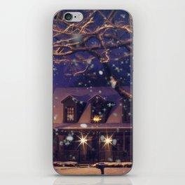 White Christmas iPhone Skin
