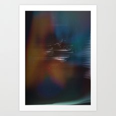 Ghosted Art Print