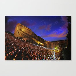 Sublime with Rome Live at Red Rocks - Concert Poster Canvas Print