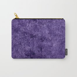 Gentian Violet Oil Painting Color Accent Carry-All Pouch