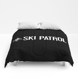 Ski Patrol: Snowflake Comforters