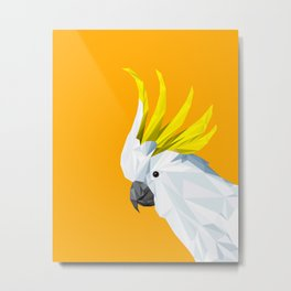 The Cockatoo Metal Print