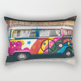 combi color flower pattern Rectangular Pillow