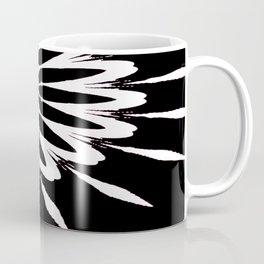 The Modern Flower Black White Pink Coffee Mug