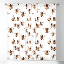 Queen Bee Blackout Curtain