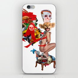 Skull Queen Ribbon Lion Witch Doctor iPhone Skin