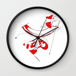 Virtual Particles Wall Clock