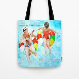 Two Drifters Tote Bag