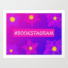 Bookstagram Art Print