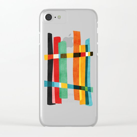 Broken Fences Clear iPhone Case
