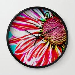 Afternoon of a Flower (après-midi d'une fleur) Wall Clock