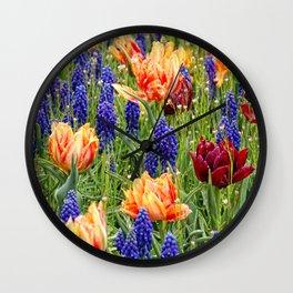 spring messengers Wall Clock