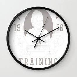 Mick's Gym Wall Clock