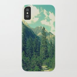 take the long way home iPhone Case