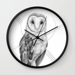 Gentle Owl Wall Clock