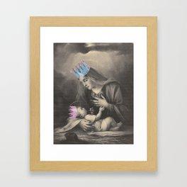 Religion. Mary & Child Framed Art Print