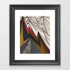 apex Framed Art Print